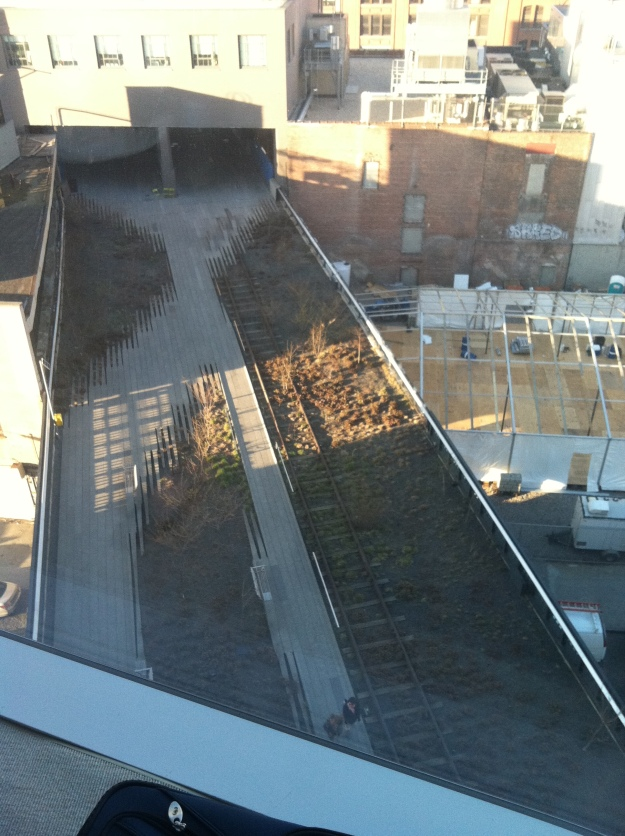 View of the Highline from the 6th Floor